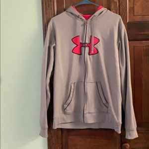 Under Armour Women's Full Zip Sweatshirt- XL